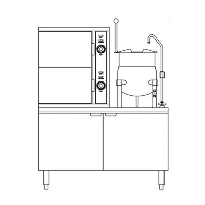 2-Comp-Convection-Steamer-Kettle-Coil-Operation-SCX-2-6