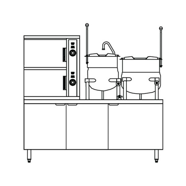 2-Compartment-Convection-Steamer-2-Kettles-Coil-SCX-2-6-6