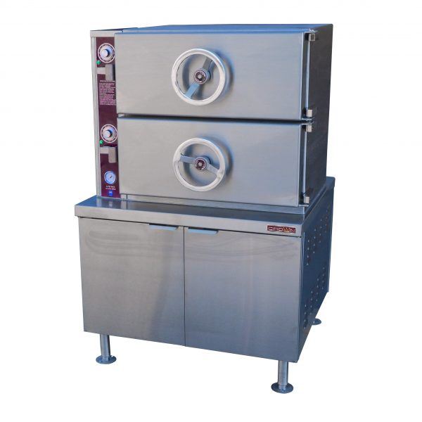 Direct Steam Pressure Compartment Steamer with Base DC-2