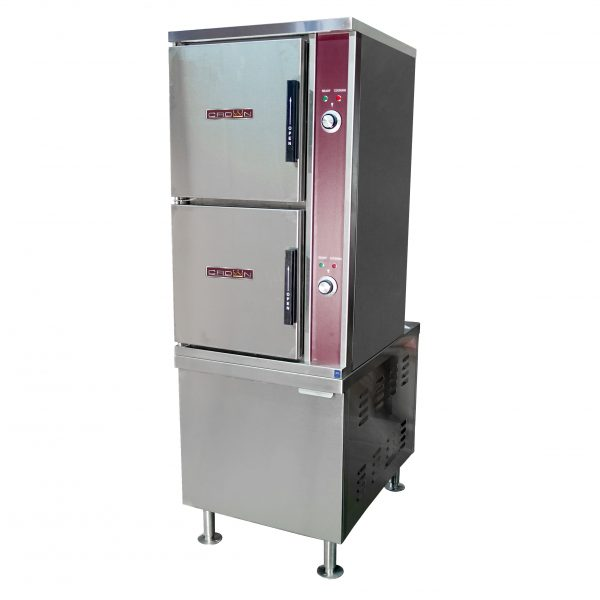 Direct Steam Convection Steamer on 24 inch Cabinet Base DCX-10-24
