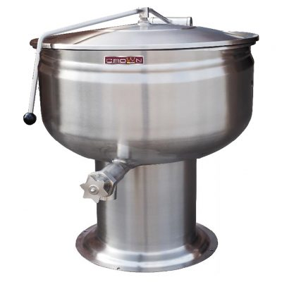 DIRECT STEAM FULL PEDESTAL KETTLE DP-20F