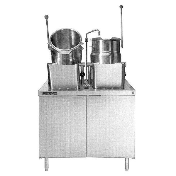 DIRECT STEAM KETTLES ELECTRIC CABINET EMT-6-6
