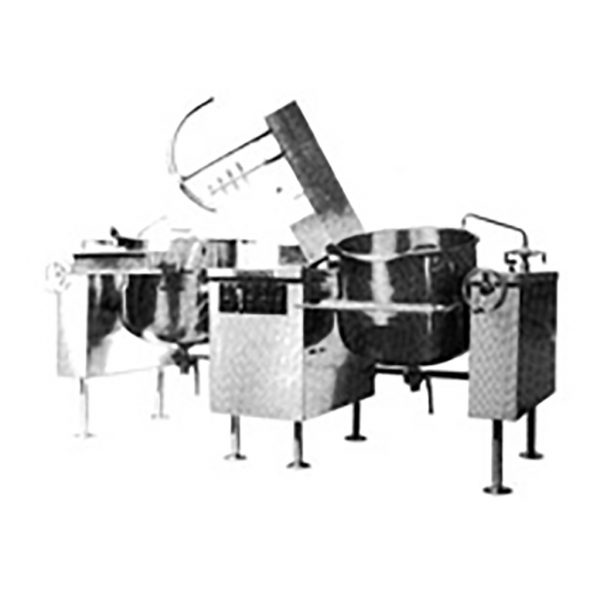 DIRECT STEAM LEG MOUNTED TWIN MIXER DLTM-40-2