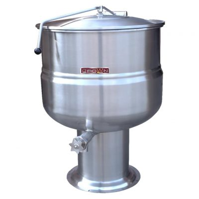 DIRECT STEAM PEDESTAL KETTLE DP-20