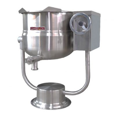 DIRECT STEAM PEDESTAL TILTING KETTLE DPT 30