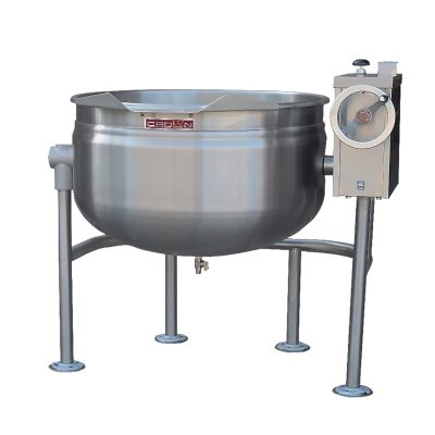 Tilting Direct Steam Kettle Full Jacketed 40 gallons