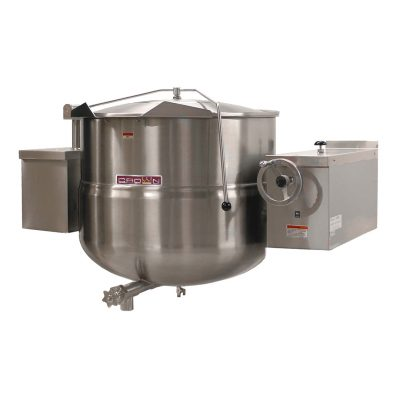Tilting Direct Steam Kettle 2/3 Jacketed Wall Mount DWT-40
