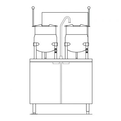 Direct-Steam-Kettle-on-Gas-Boiler-Base-GMT-6-6