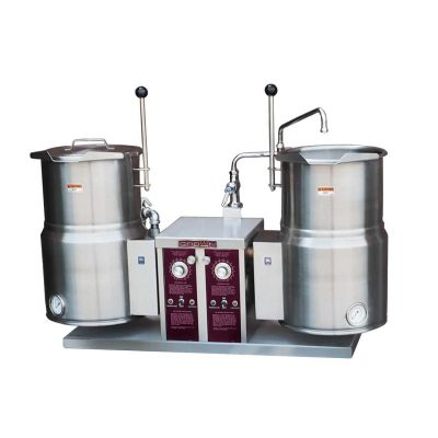 Electric Twin Tilting Kettles EC-6TW-2