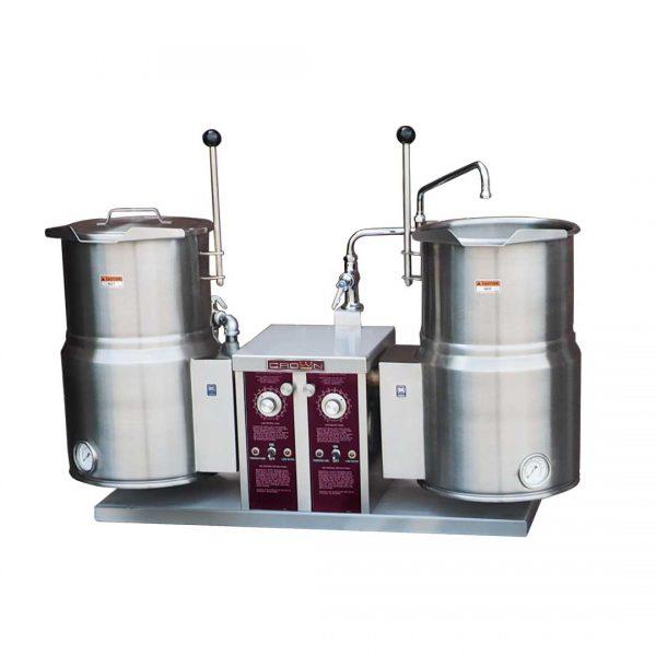 Electric Twin Tilting Kettles EC-6TW-2