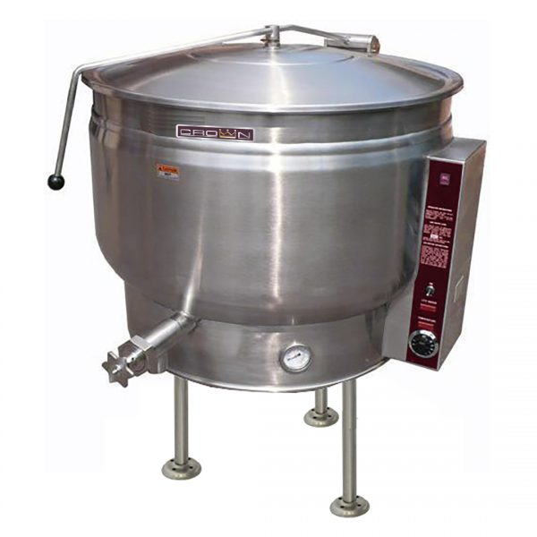 Stationary Electric Kettle Full Jacketed 60 gallons EL-60F