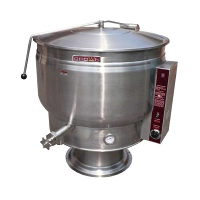 Electric Kettle Full Jacketed on Pedestal 60 gallons EP-60F