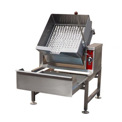 Electric Tilting Skillet GCTS-16 on SD-30-16S Stand