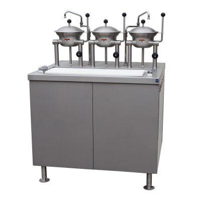 GAS OYSTER BAR OB-3-2-40-G