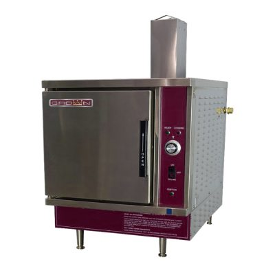 Gas Counter Convection Steamer 5 pan SX-5G3